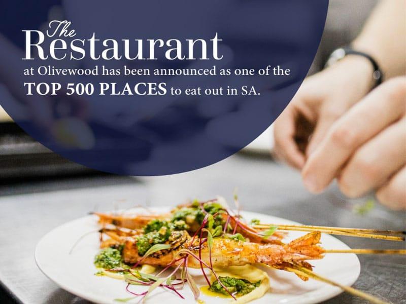 Restaurant top 500 in SA